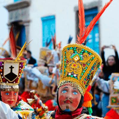 Festival Of Paucartambo, Virgen Del Carmen