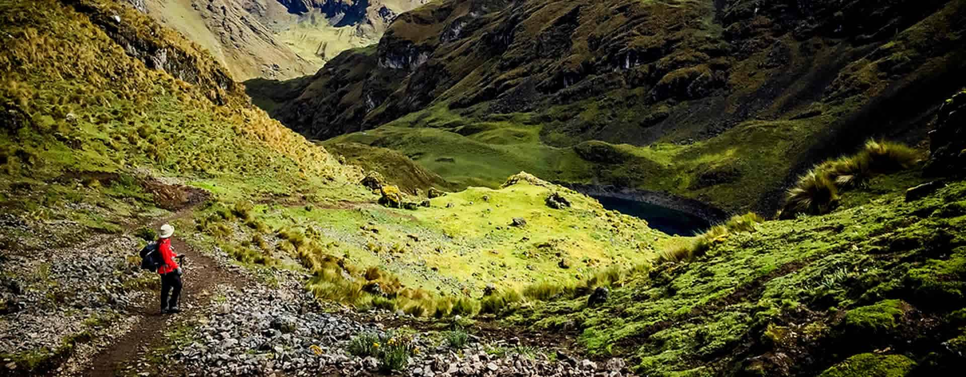route to lares valley strong walks cusco
